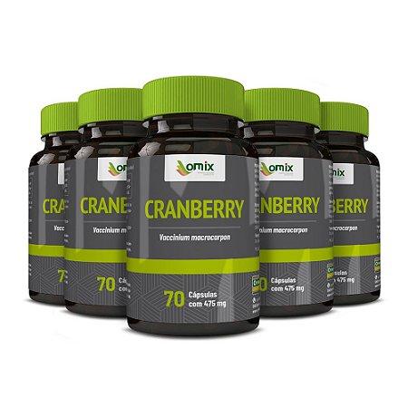 Kit 5x Cranberry - 70 cápsulas