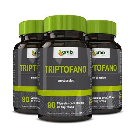 Kit 3x Triptofano - 90 cápsulas