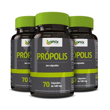 Kit 3x Própolis - 70 cápsulas