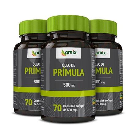 Kit 3x Óleo de Prímula - 70 cápsulas