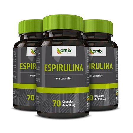Kit 3x Espirulina