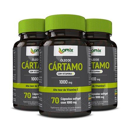 Kit 3x Óleo de Cártamo c/ Vitamina E