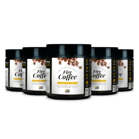 Kit 5x Fire Coffee - Natural (250 g)