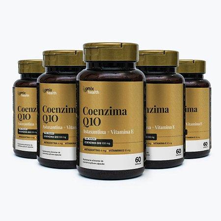 Kit 5x Coenzima Q10 - 60 cápsulas