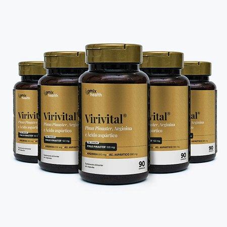 Kit 5x Virivital - 90 cápsulas