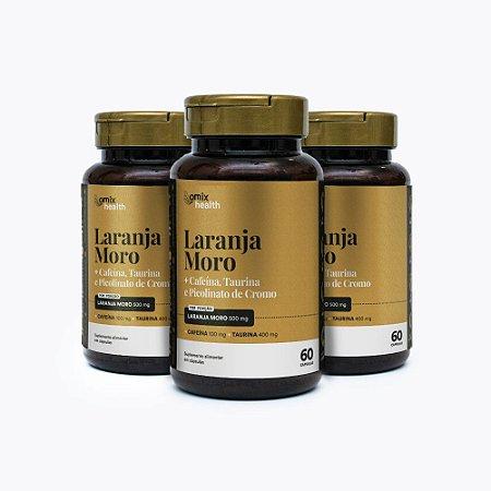 Kit 3x Laranja Moro - 60 cápsulas