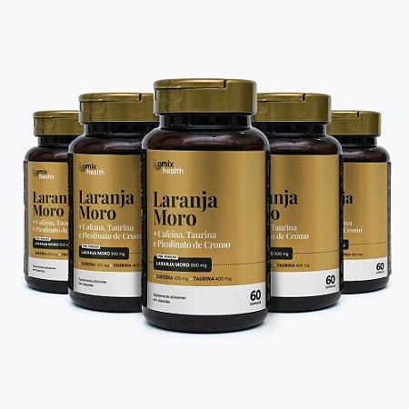 Kit 5x Laranja Moro - 60 cápsulas