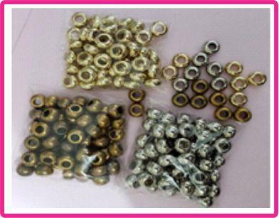 Entremeio - Tamanho 10 mm - Cores: Ouro velho, Prata ou Dourado - (Pacote com 50 unidades)