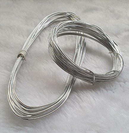 Arame Flexível de Alumínio - espessura 1,5 mm - (Rolo com 5 metros)