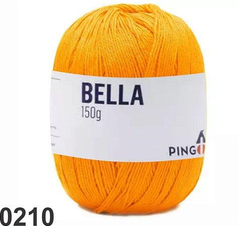Bella-Mandarim amarelo gema