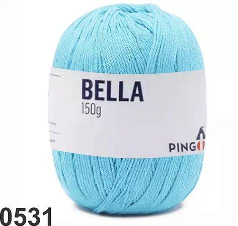 Bella-Safira azul claro