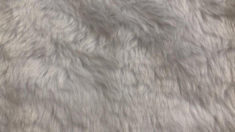 Pelúcia para Foto - Pelo Curto 12 mm - Tamanho: 50 X 50 cm - Cor: Branca