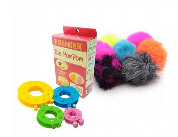 Kit Faz PomPom Premier *4 Tamanhos (8 peças)*