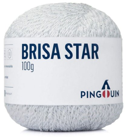 Brisa Star - 0002 Branco com Prata
