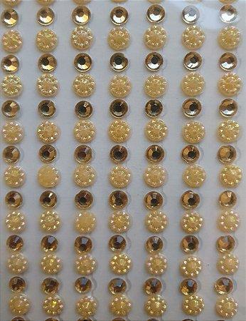 Sticker's - Autocolantes - Fantasia - Mod. ST-30 -  cartela com 26 linhas x 7 colunas
