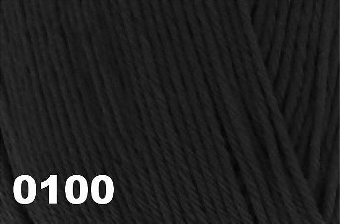 Bella Arte, 100g, 0100 - Preto - TEX 590