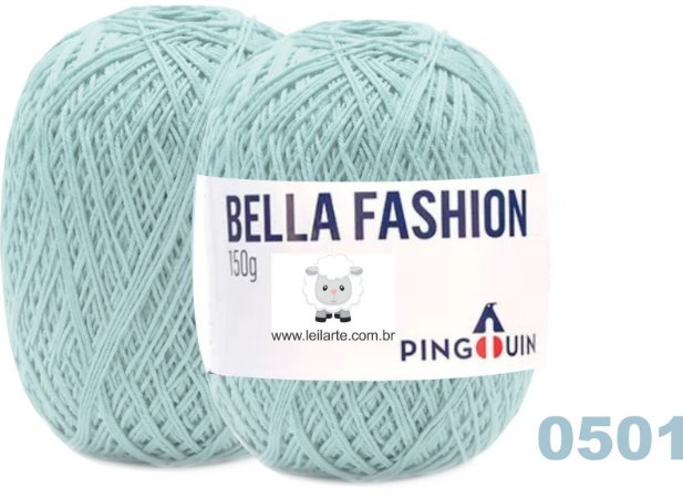 Bella Fashion , 150g, 0501- Lavanda - Azul claro - TEX 295