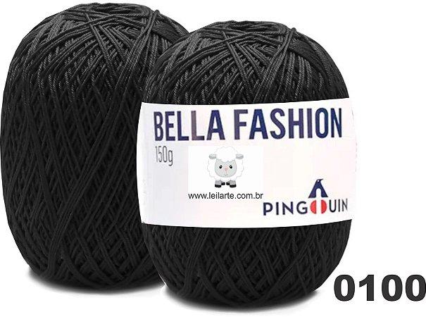 Bella Fashion , 150g, 0100 - Preto - TEX 295