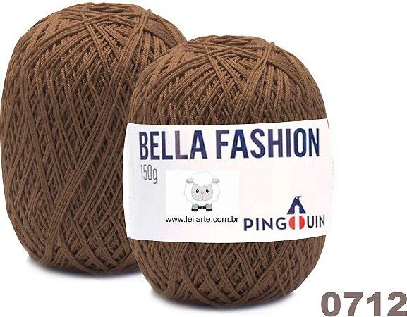 Bella Fashion , 150g, 0712 - Capuccino Marrom - TEX 295