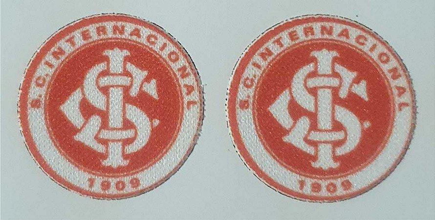 Emblema Termocolante Internacional - Tamanho 23 mm - (Venda por par)