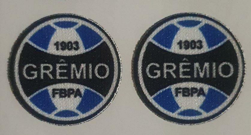 Emblema Termocolante Grêmio - Tamanho 24 mm - (Venda por par)