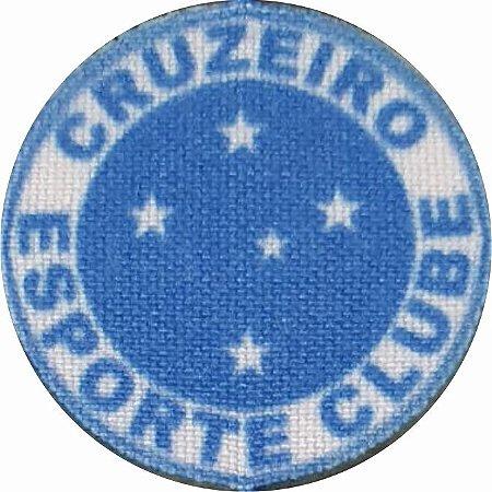 Emblema Termocolante Cruzeiro - Tamanho 23 mm - (Venda por par)