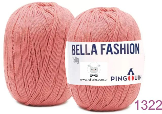 Bella Fashion , 150g, 1322 - Geranio - TEX 295