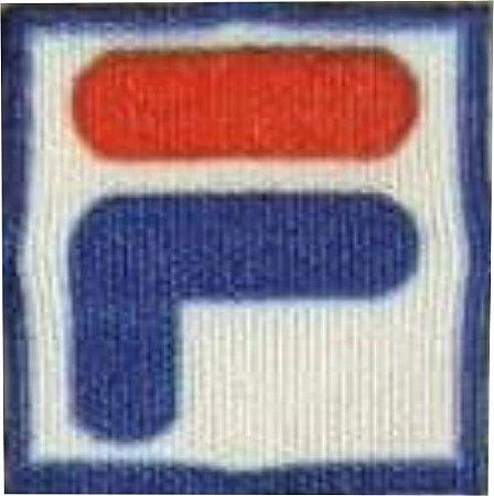 Emblema Termocolante FILA - Tamanho 14X14mm - (Venda por par)