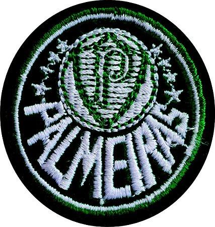 Brasão do Palmeiras Bordado - Patch - Medida: 5,7 cm diâmetro - *Venda por unidade*
