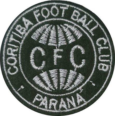 Brasão do Coritiba Foot Ball Clube - Patch - Medida: 5,9 cm de diâmetro - *Venda por unidade*