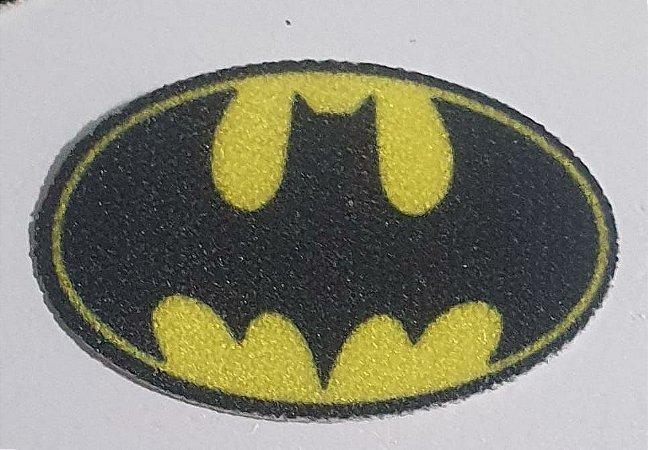 Termocolante - Brasão Batman  - 25 x 15 mm - *****Venda por par*****