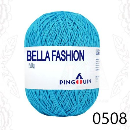 Bella Fashion , 150g, 0508- Tuquesa -  TEX 295