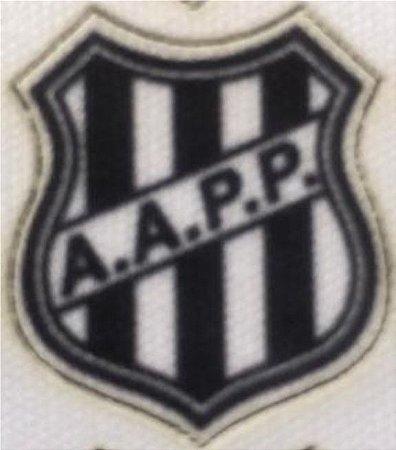 Emblema Termocolante Ponte Preta - Tamanho 23X17 mm - (Venda por par)