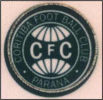 Emblema Termocolante Coritiba - Tamanho 23 mm - (Venda por par)