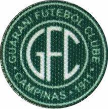 Emblema Termocolante Guarani - Tamanho 23 mm - (Venda por par)