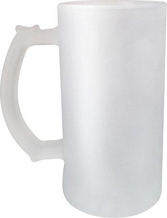 Caneca de Vidro Fosca Chopp 450 ml