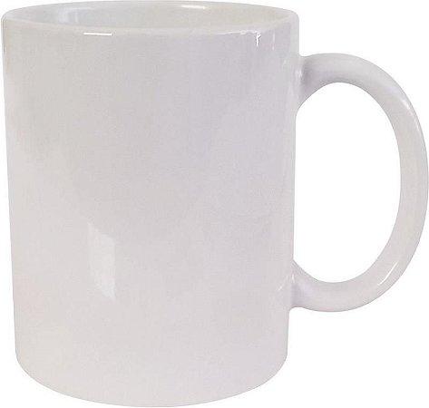 Caneca Cerâmica 325 ml Branca 1 un importada