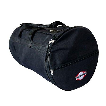 """Capa Bag Rebolo Tantan Contemporânea 11"""" 55cm Almofadada"""