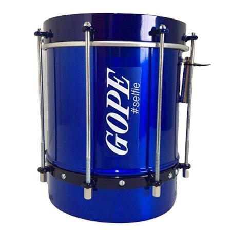 Cuíca Gope 8 Pol. 25cm Selfie Azul Alumínio Bal2508csa