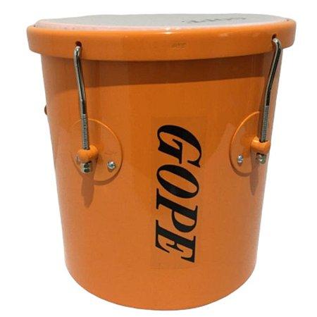 Repique De Mão Gope 10 Pol. 30cm Alumínio Laranja Lal3010rmlr