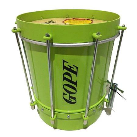 Cuíca Gope 09 X 28 Cm Alumínio Verde Limao Bal2809cvl