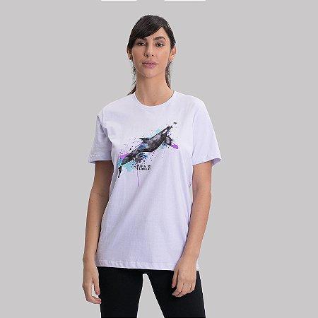 Camiseta Orca Aquarela