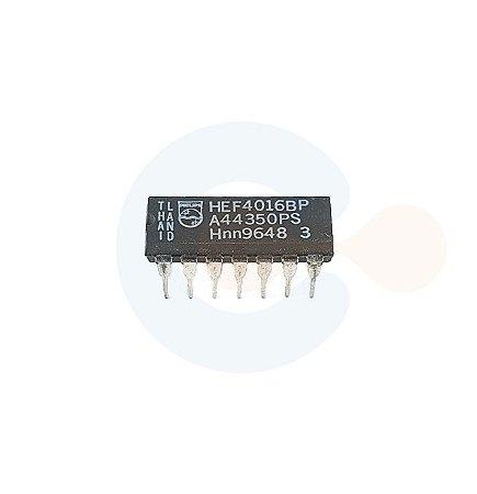 Circuito Integrado HEF4016BP