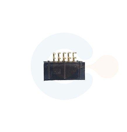 Conector Box Header Macho p/ PCI Horizontal s/ Injetor 10 vias Preto