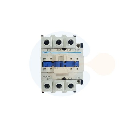 Contator 3P NC1-40A Bobina 220VCA Contato 1NA+1NF