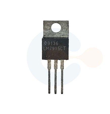 Regulador de Tensão LM7915CT 9136