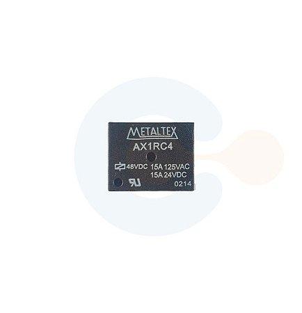 Rele Contato 1NAF - Bobina 48Vcc - AX1RC4