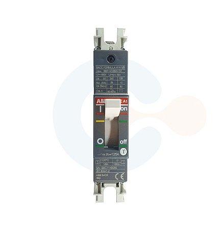 Disjuntor Caixa Moldada 1P SACE Formula A1N 125A 25kA