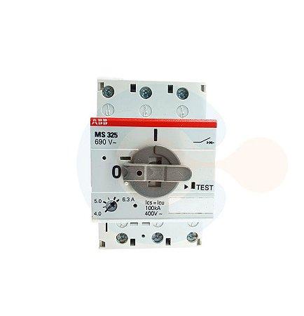 Disjuntor Motor 3P MS 325 6,3A (4 a 6,3A) 100 kA