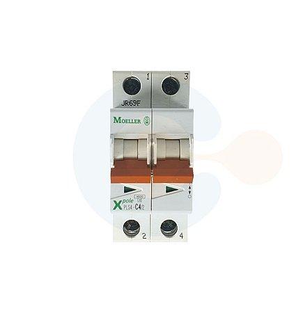 Mini Disjuntor 2P PLS4 Curva C 4A 4,5kA